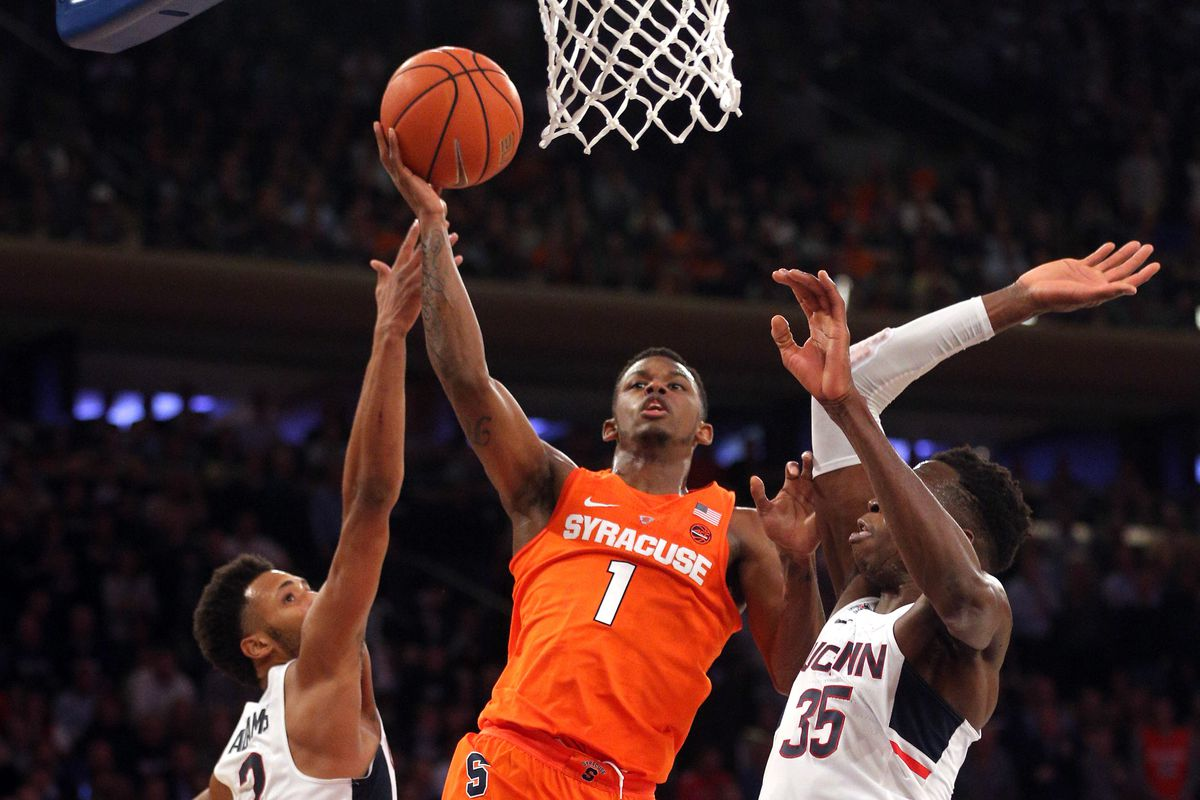 syracuse vs uconn mens basketball - photo#1