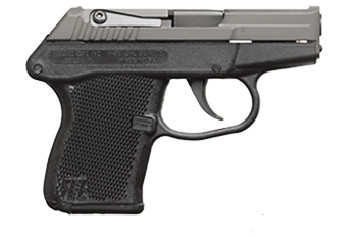The Kel-Tec P32 handgun is not much larger than the palm of an adult's hand.   keltecweapons.com