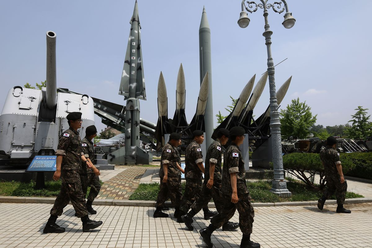 South Korea Reacts To North's Fourth Missile Test In Four Weeks