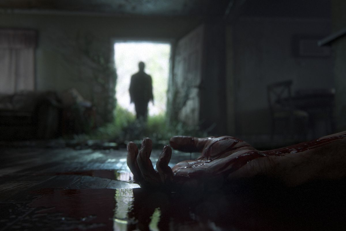 The Last of Us Part 2 teaser - corpse