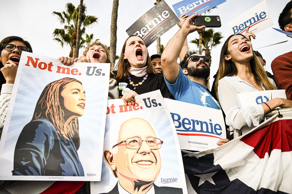 Sanders projected winner of California primary