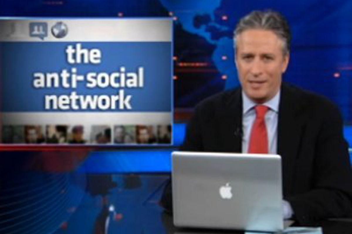 Jon Stewart anti social network