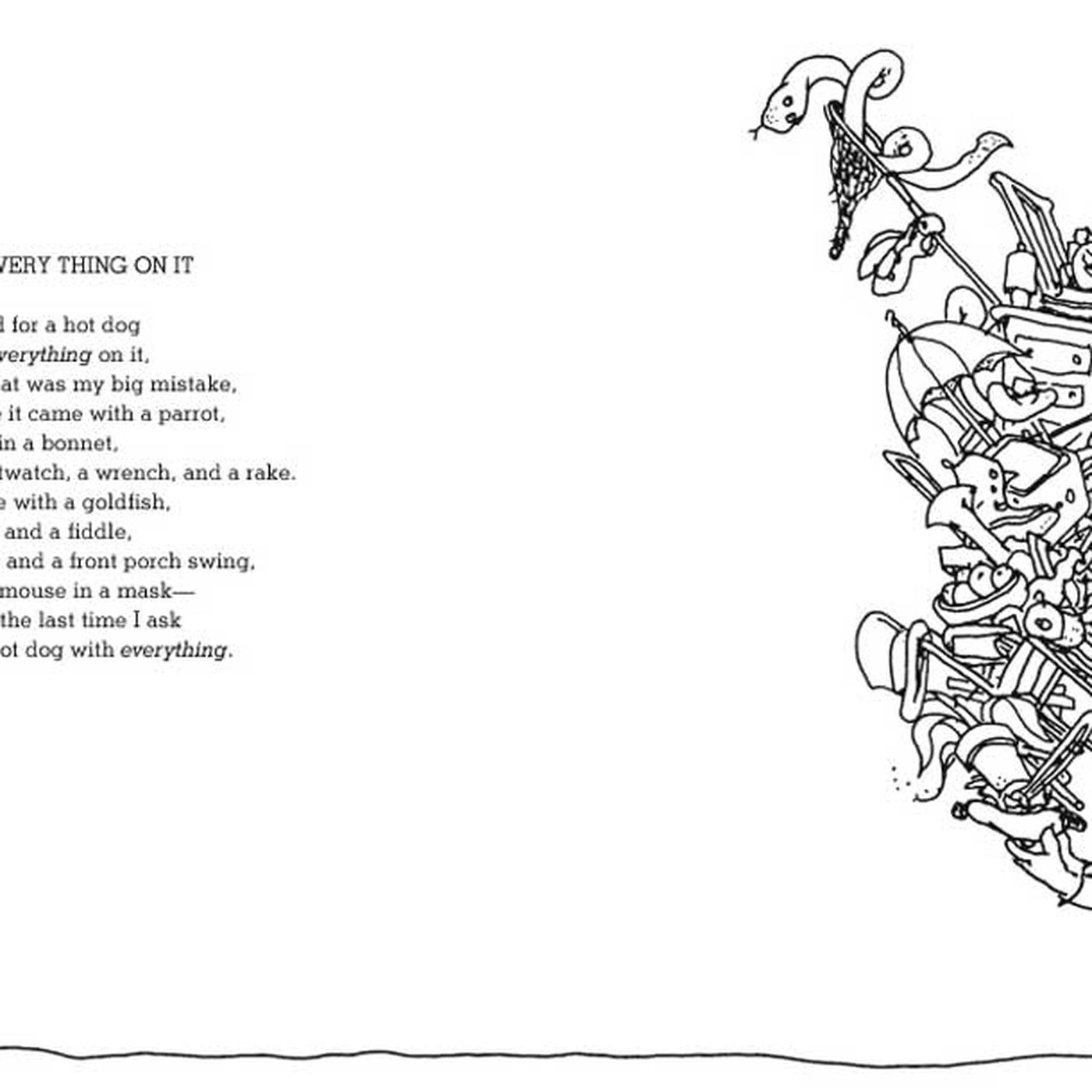 Shel Silverstein Rhymes About Hot Dogs, Italian Food - Eater