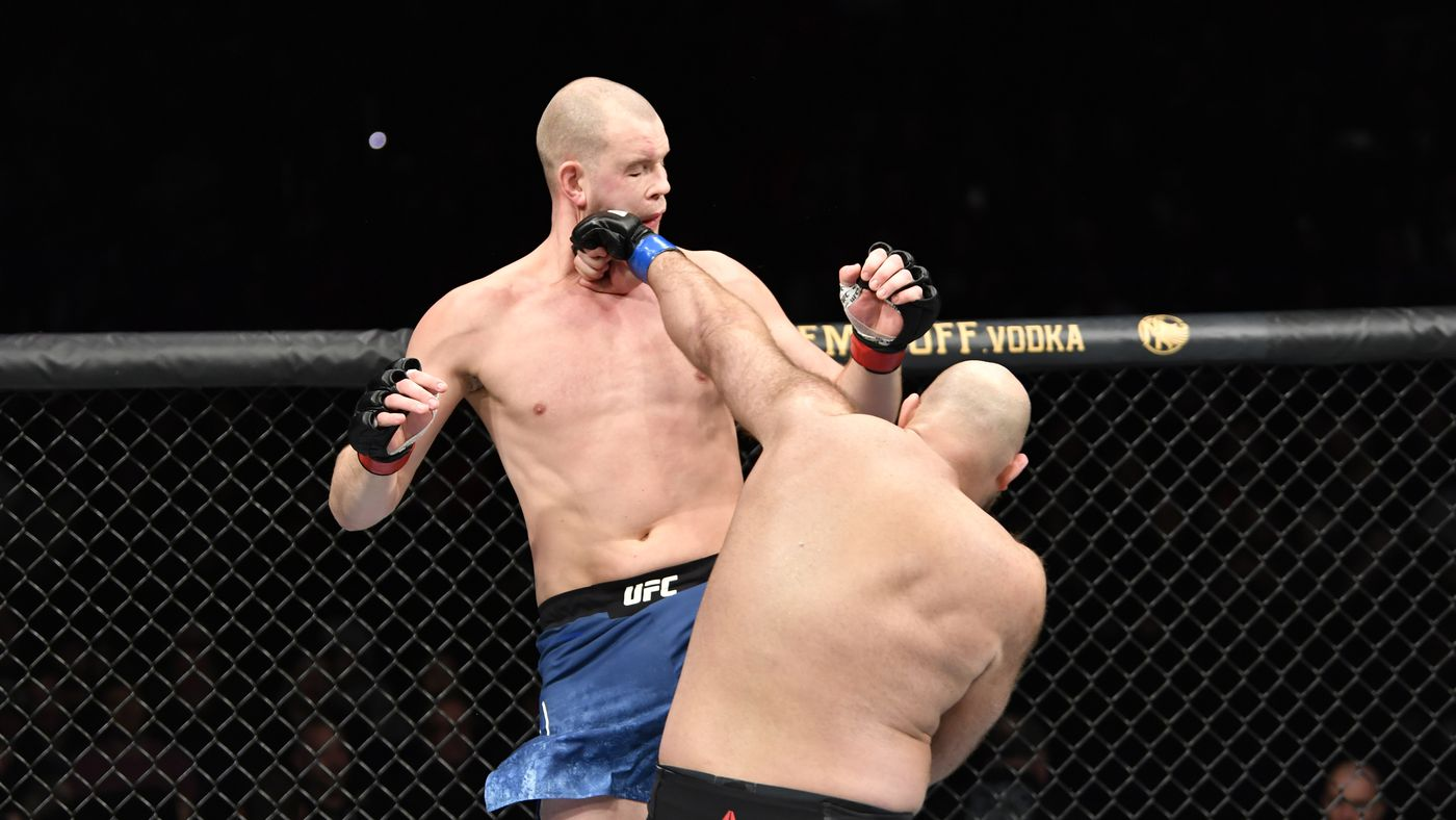 Knockout! Watch Ben Rothwell finish Stefan Struve following repeated groin kicks at UFC on ESPN 7