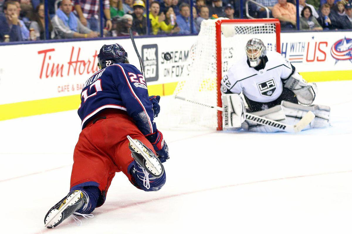 NHL: Los Angeles Kings at Columbus Blue Jackets