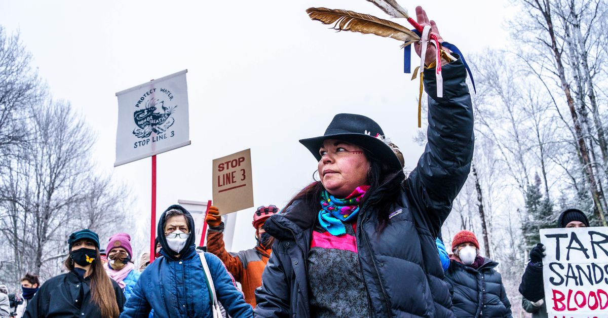 The battle over the Line 3 oil pipeline expansion in Minnesota, explained: How Native Americans are leading t…