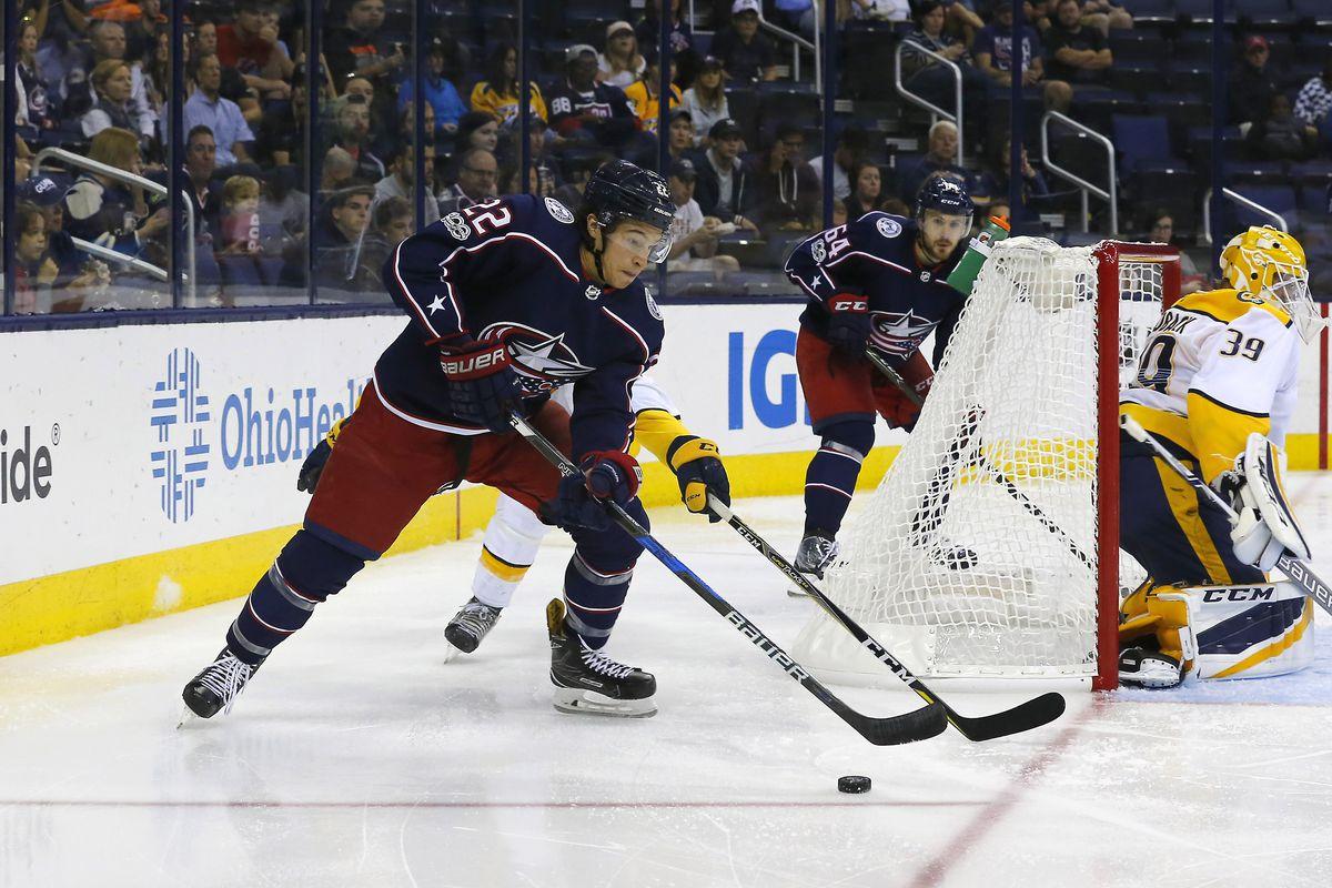 NHL: Preseason-Nashville Predators at Columbus Blue Jackets