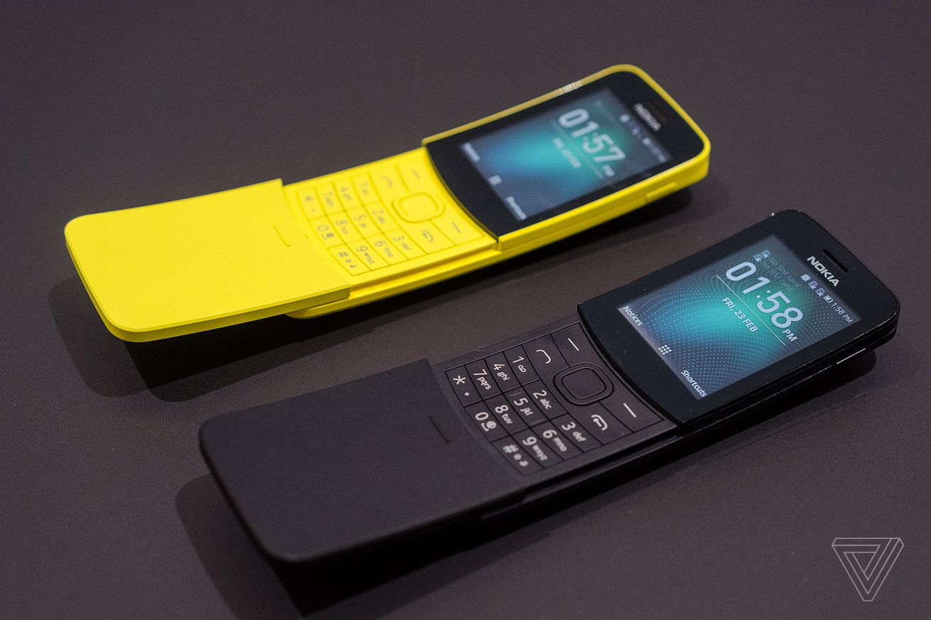 nokia s banana phone from the matrix is back