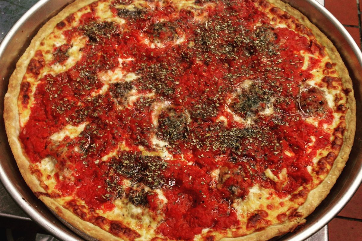 Deep-dish from Vin & Vic's