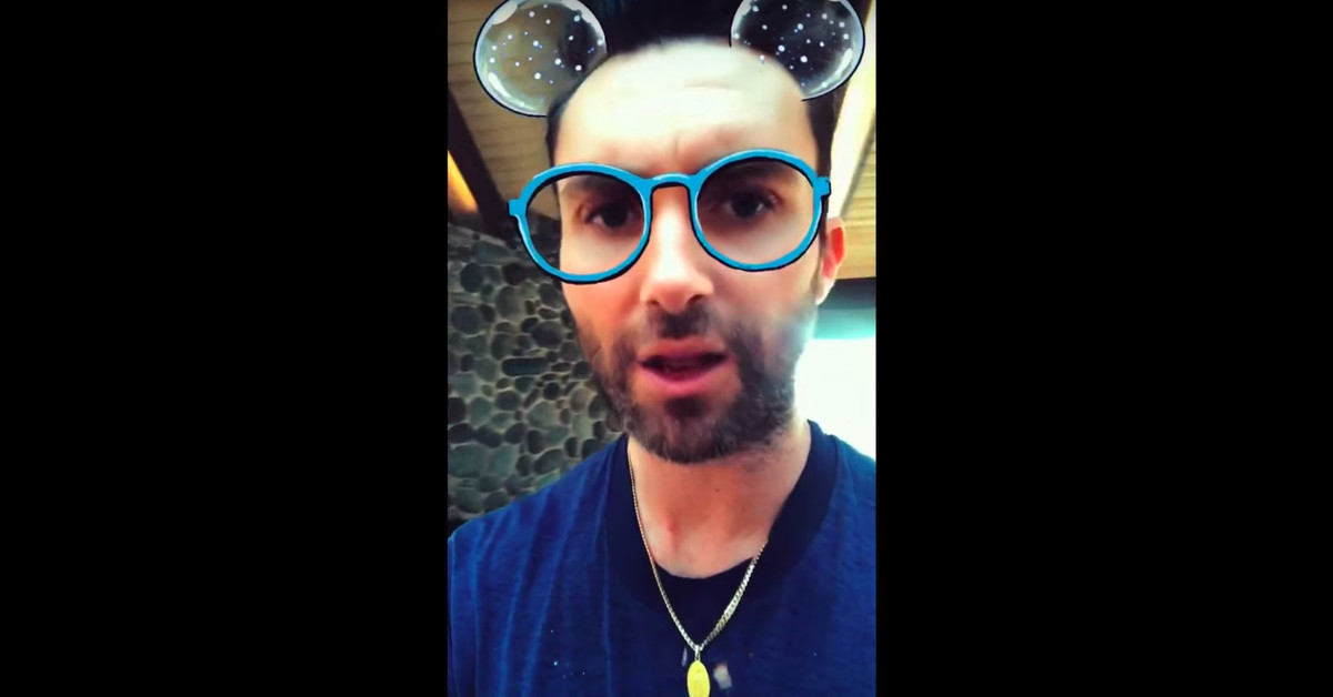 Maroon 5 discovers Snapchat filters in the music video for Wait