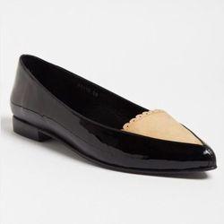 "<b>Opening Ceremony</b> <a href=""http://otteny.com/catalog/sale/sale-shoes/julietta-flats.html"">Julietta Flats</a>, $83.16 (was $462)"