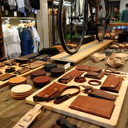 """If you're rolling with a dude or if you're into tough accessories, hit up Tanner Goods' <a href=""""http://la.racked.com/archives/2014/01/15/tanner_goods_sleek_leathers_are_landing_in_dtla_next_month.php""""target=""""_blank"""">just-opened</a> digs at the corner of"""