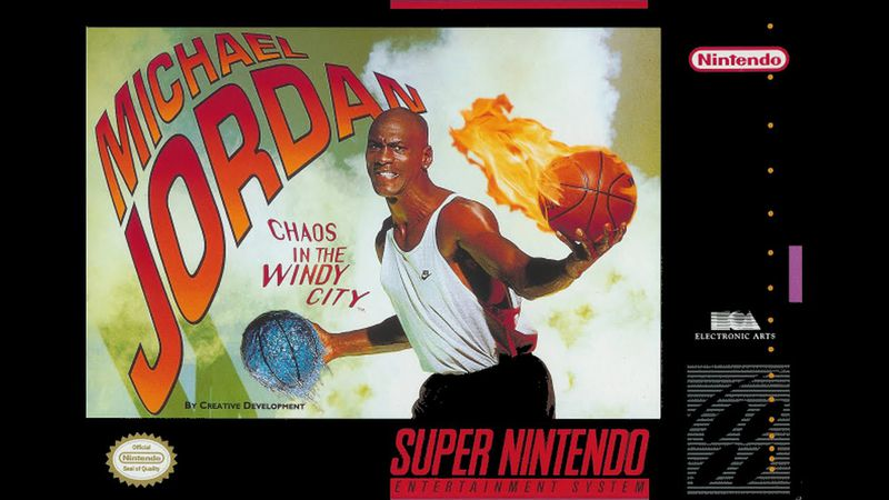 Michael Jordan: Chaos in the Windy City box art
