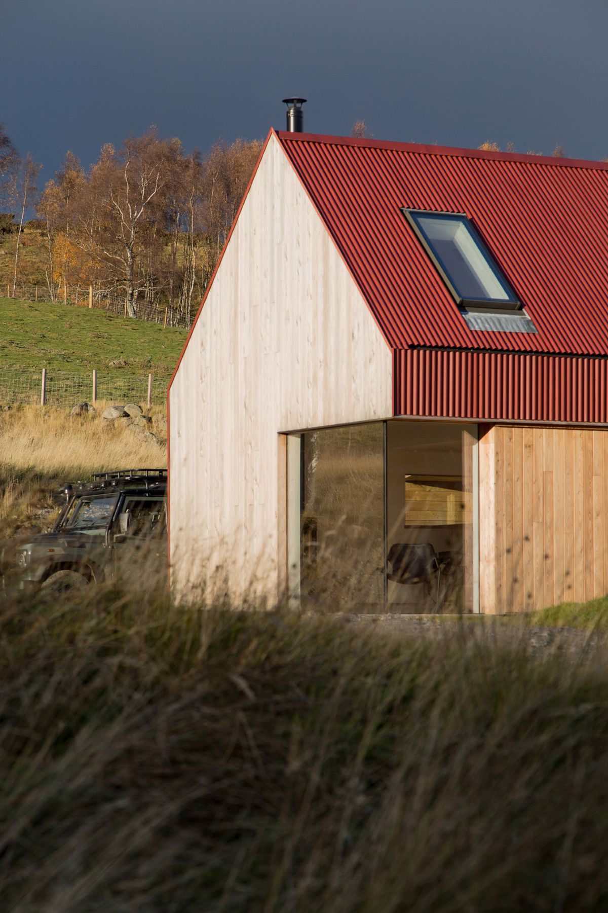 Restored 1700s Farmhouse In The Scottish Highlands Gets