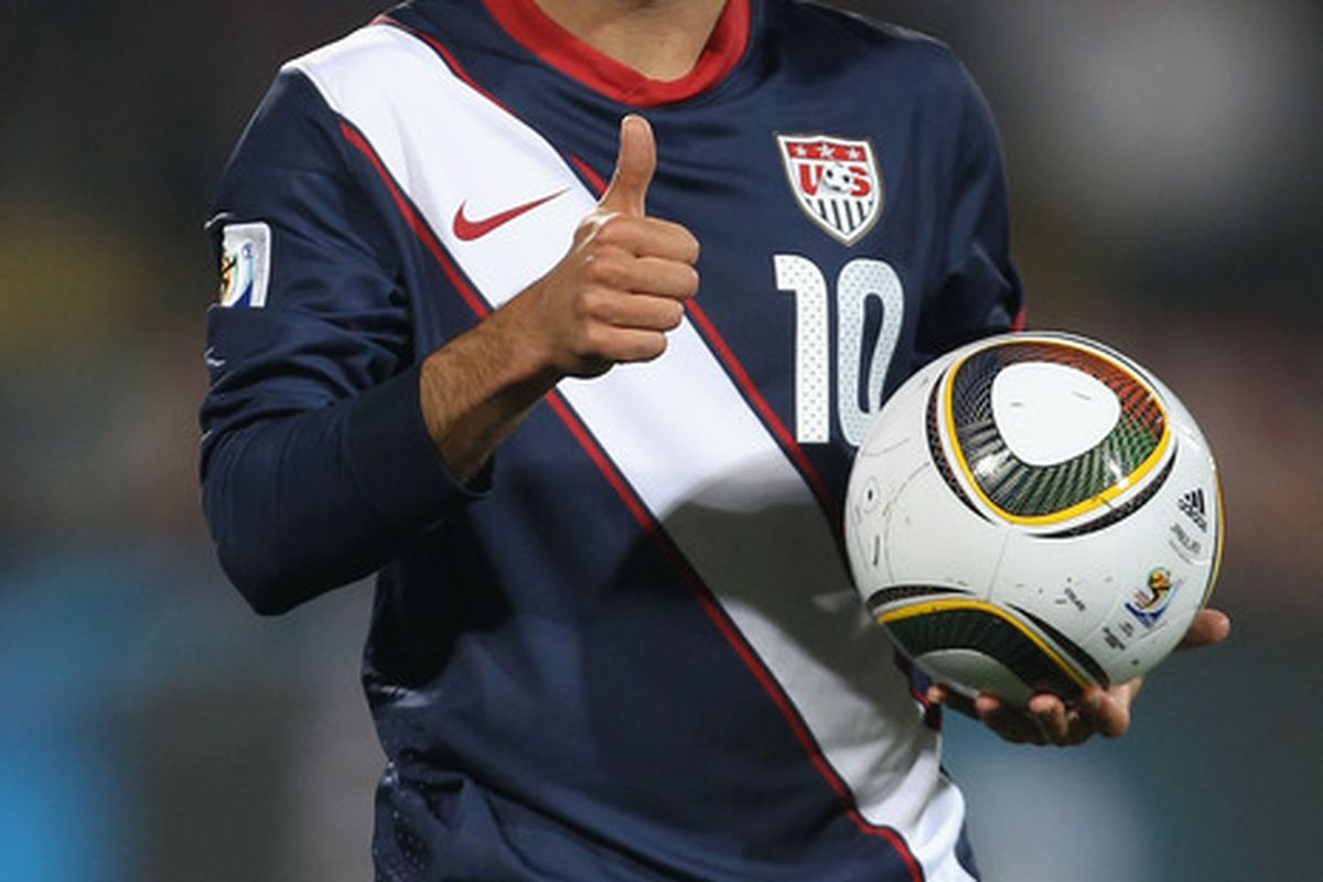 A consortium of Landon Donovan, former president Bill Clinton, Morgan Freeman, and Don Garber are in Germany presenting the U.S. bid to host the 2022 World Cup. The host site selection announcement will be made on Thursday.