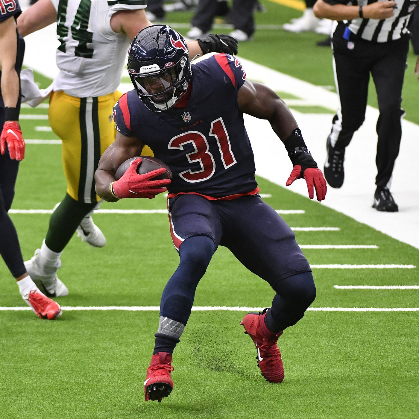 Texans Game Plan Against Packers Showed When Not To Run The Football Acme Packing Company