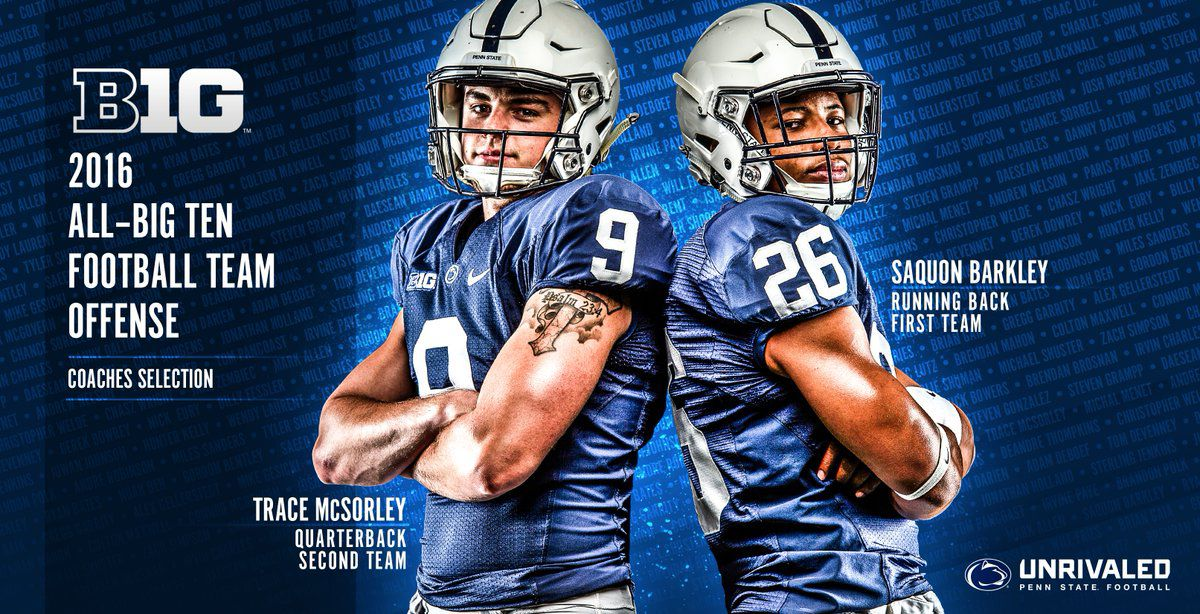 McSorely All-B1G