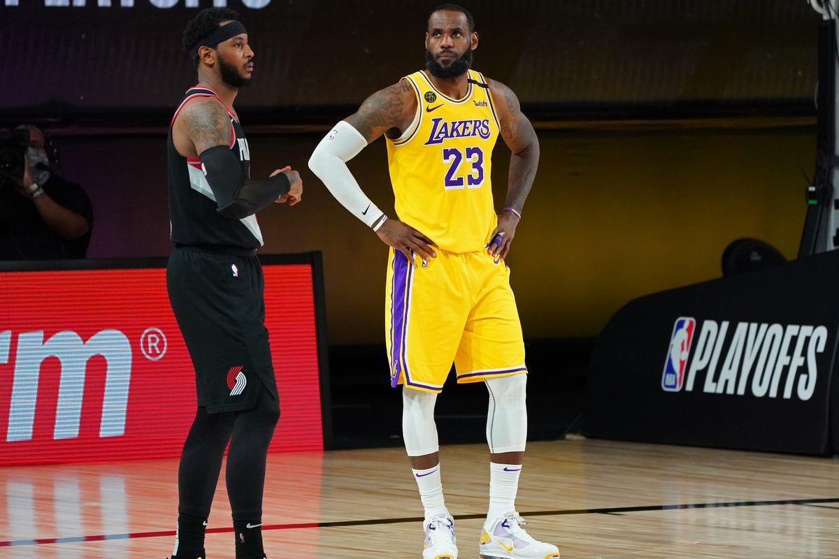 Portland Trail Blazers v Los Angeles Lakers - Game Five