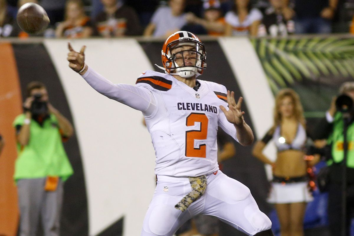 d97c1c5ea Browns expected to start Johnny Manziel against Steelers - SBNation.com