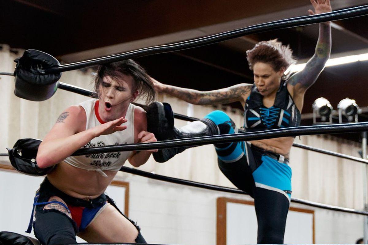 Vs Klein Wrestling Groß Lesbisch Greco