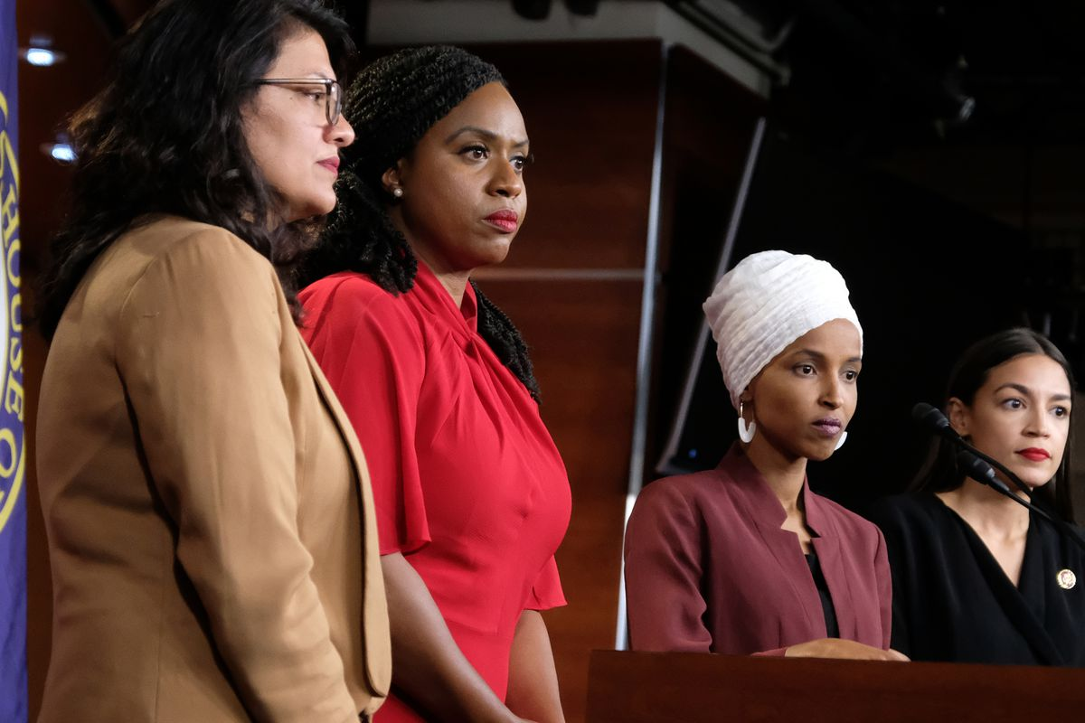 """The Squad"""" maintains civility and composure against Trump's"""