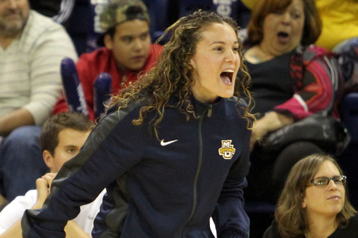 Carolyn Kieger is making some moves with her first recruiting class.