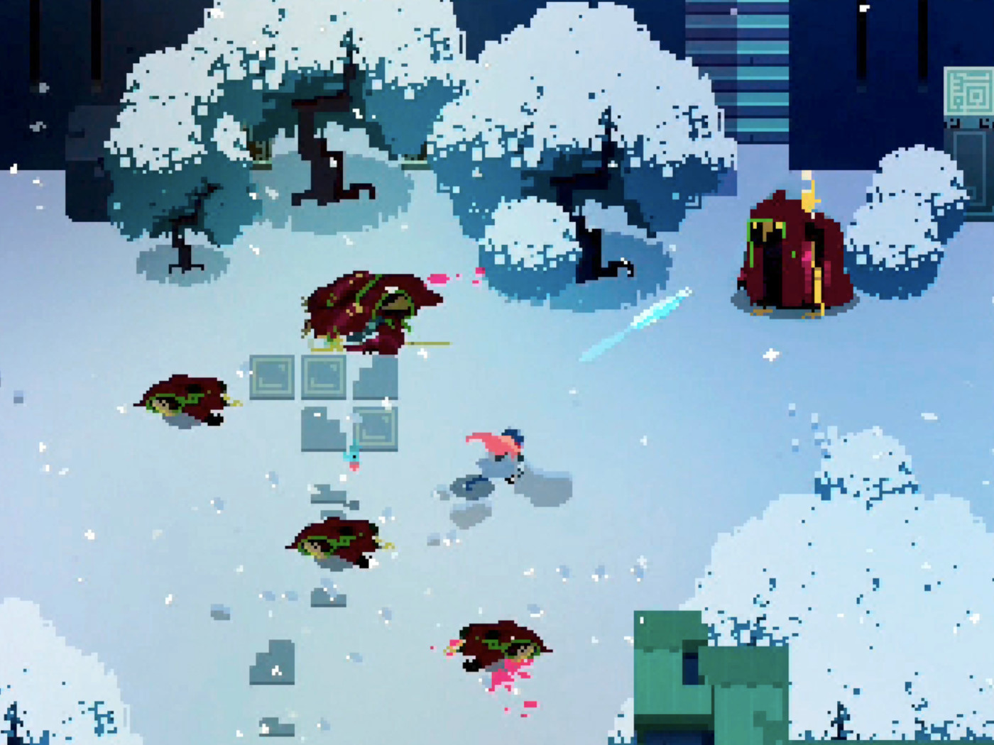 Hyper Light Drifter Is Now Available On The Iphone And Ipad The