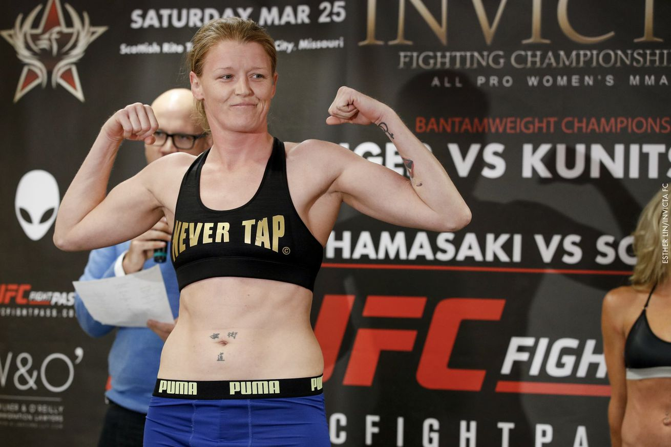 community news, With Megan Anderson UFC bound, Tonya Evinger steps in to face Helena Kolesnyk at Invicta FC 24