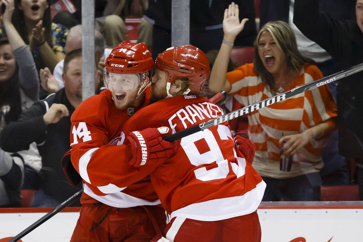 Franzen s probably whispering about the gift that he has waiting for  Nyquist. Rick Osentoski-USA TODAY Sports 3c760aa5f41