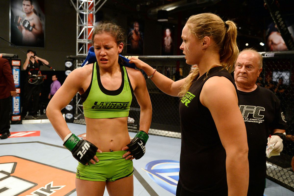 Shayna Baszler Injured, Out Of Tuf Nations Finale Bout Against Sarah Kaufman - Mma -8372