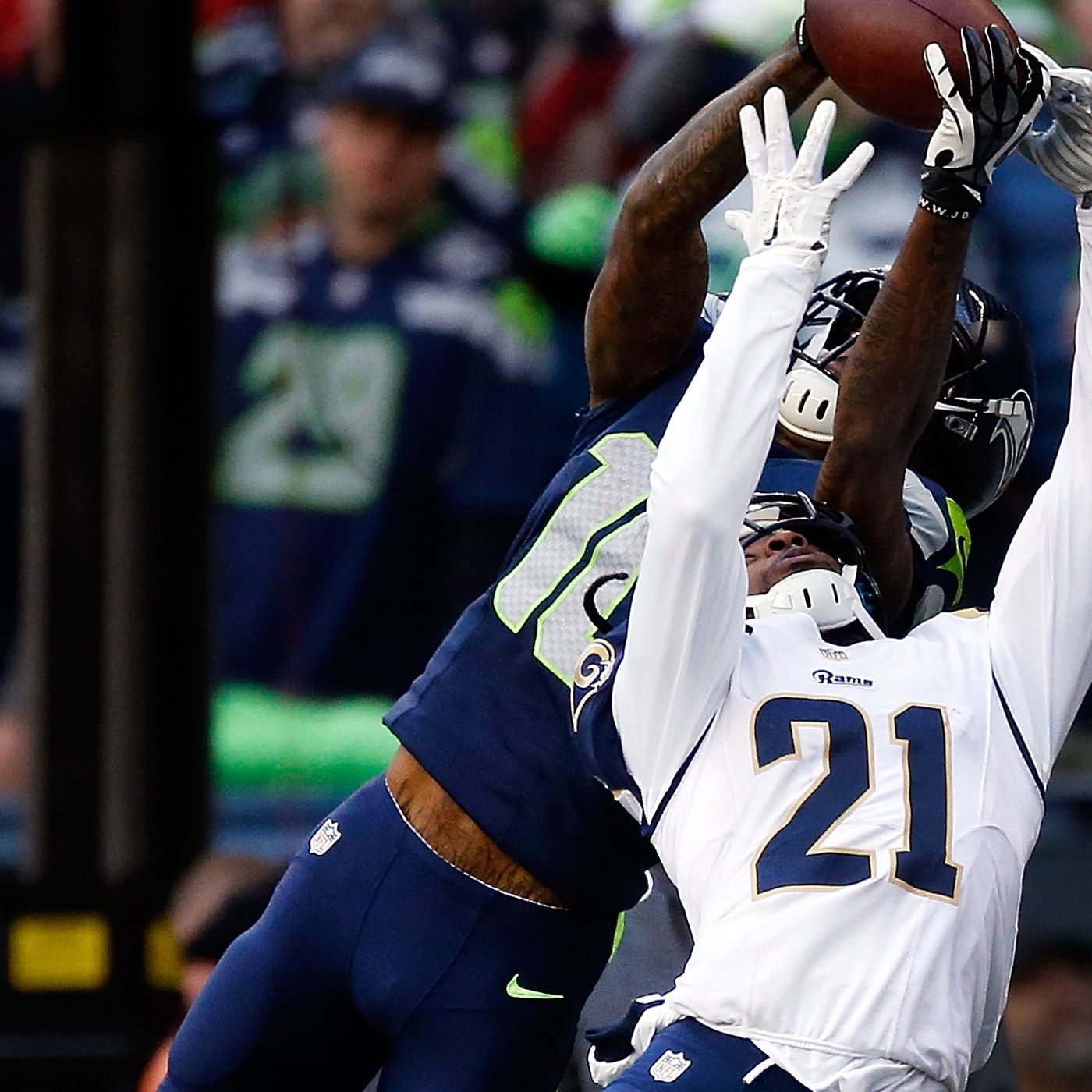 Seahawks Vs Rams Final Score Defensive Turnovers Lift Seahawks To Nfc West Title And Home Field Advantage Throughout Playoffs Field Gulls