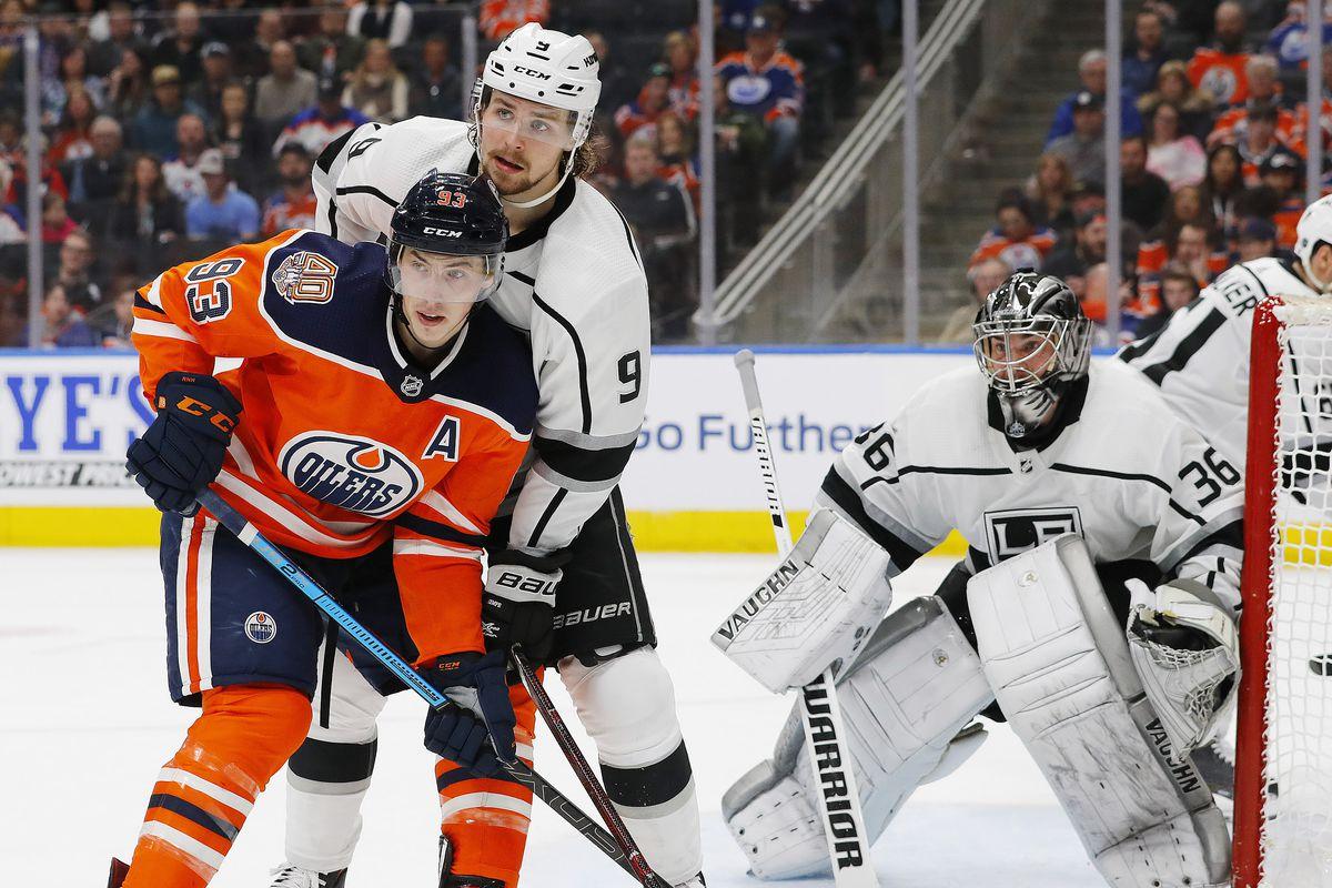 NHL: Los Angeles Kings at Edmonton Oilers