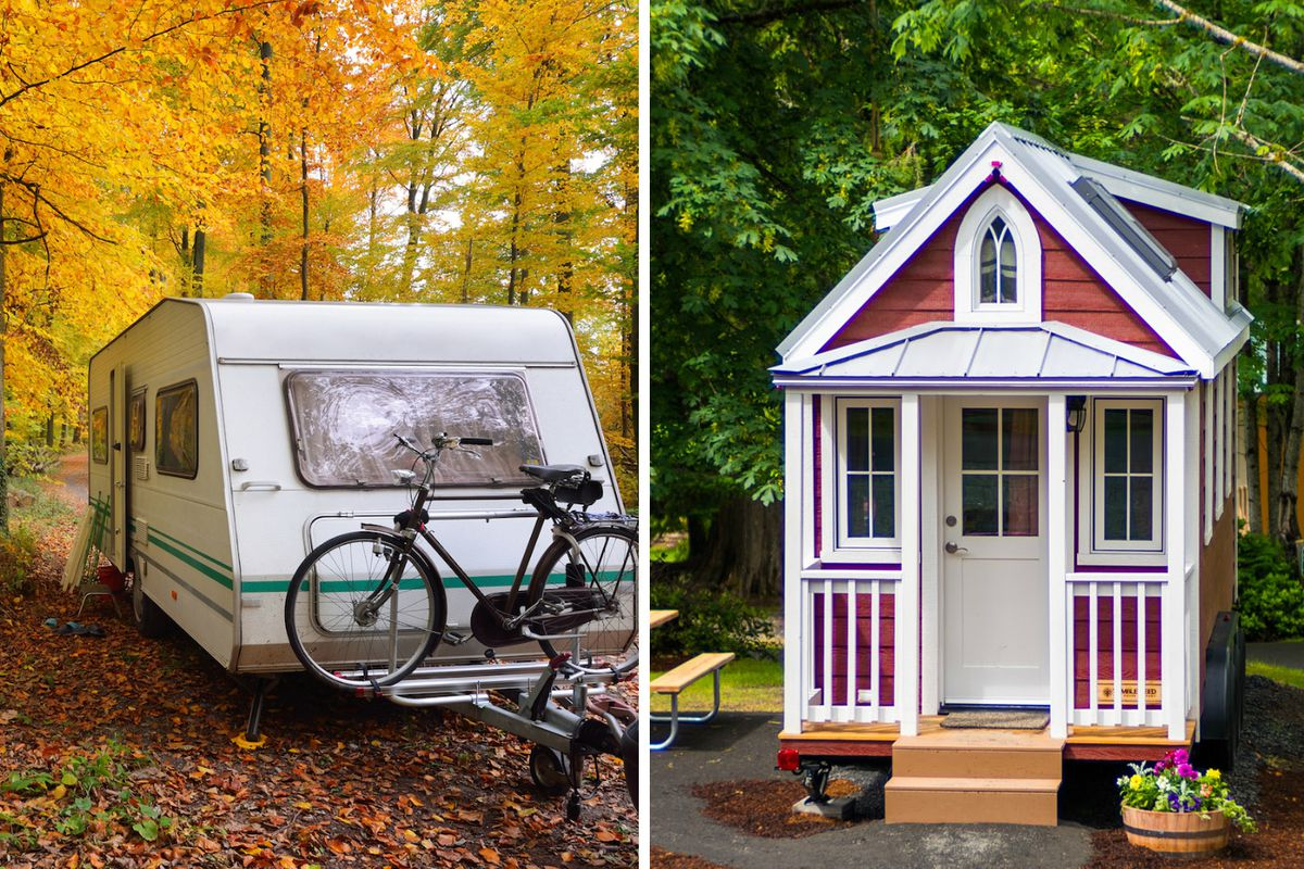 tiny houses vs rvs which one should you buy curbed. Black Bedroom Furniture Sets. Home Design Ideas
