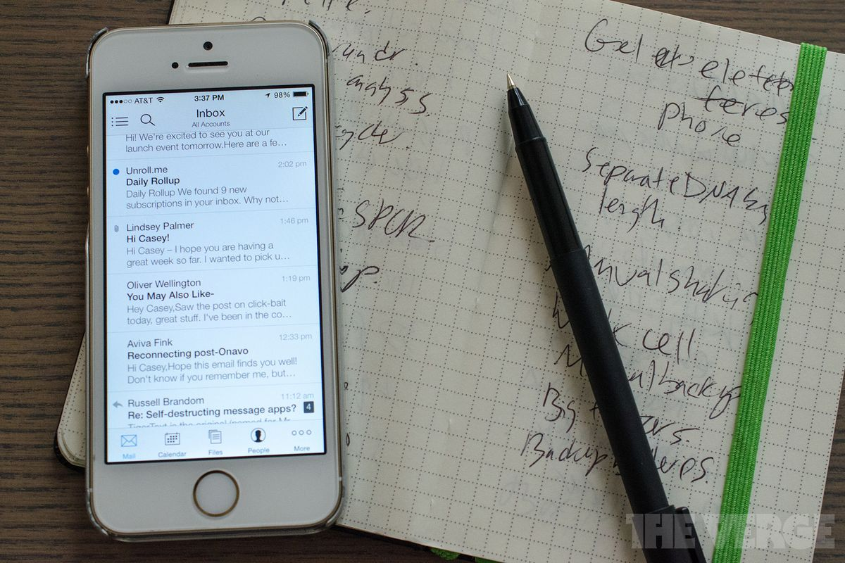 The history of Microsoft's new Outlook for iPhone app - The