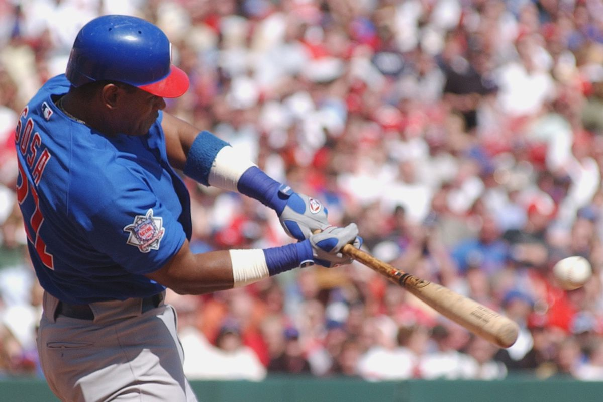 Former Cubs slugger Sammy Sosa again fell well short of the votes needed to join the Hall of Fame.