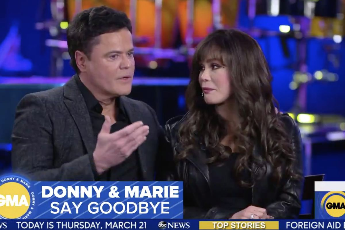 Donny and Marie Osmond announced Thursday that they will officially leave their Las Vegas residency this November.