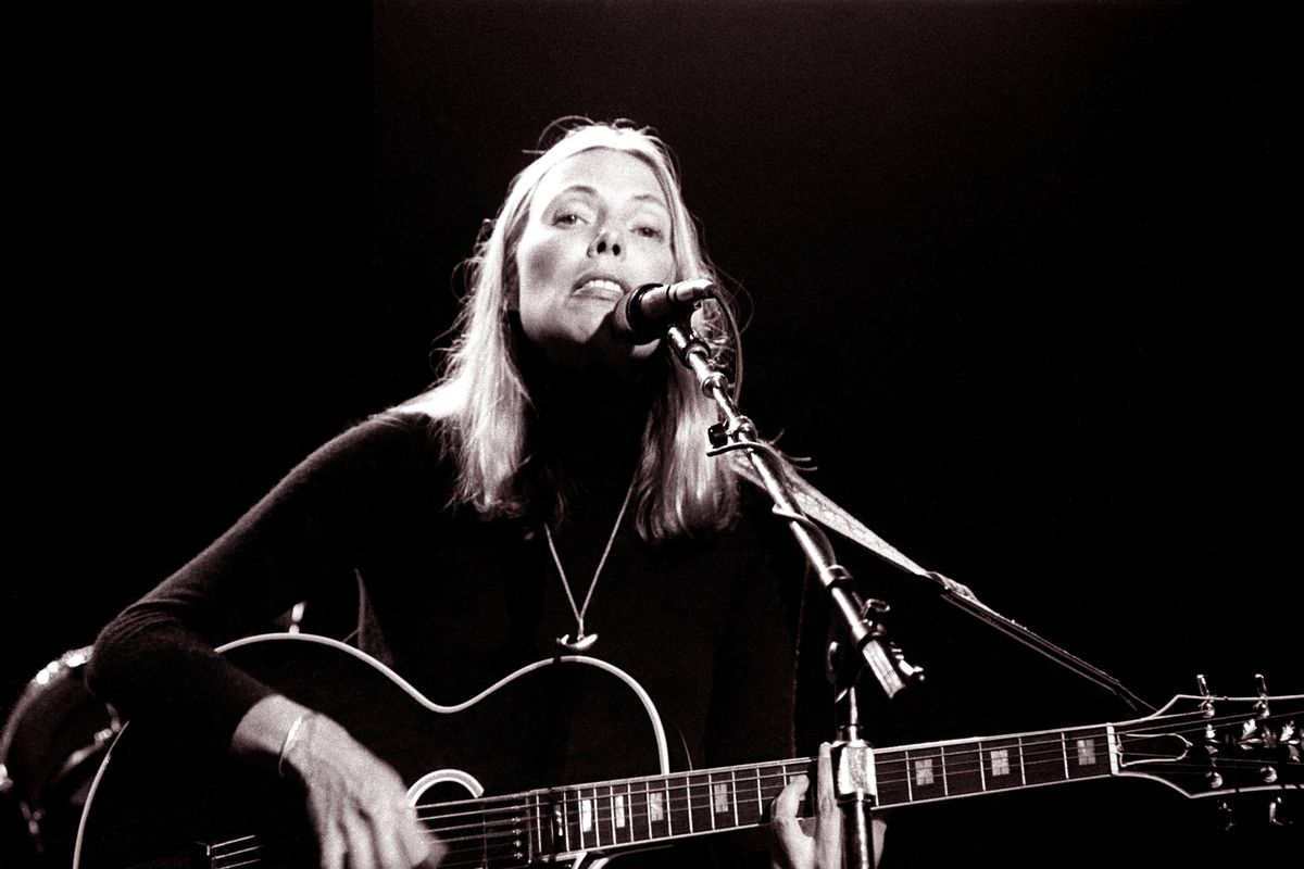 Joni Mitchell Fear Of A Female Genius The Ringer