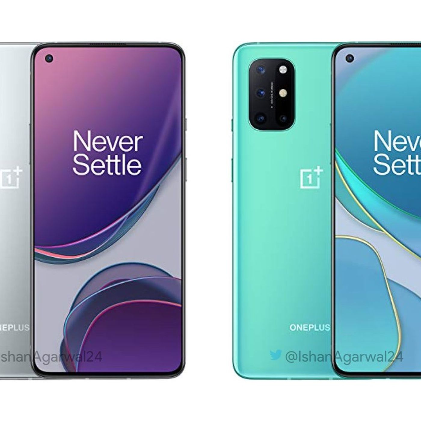 Here's what the OnePlus 8T looks like ...