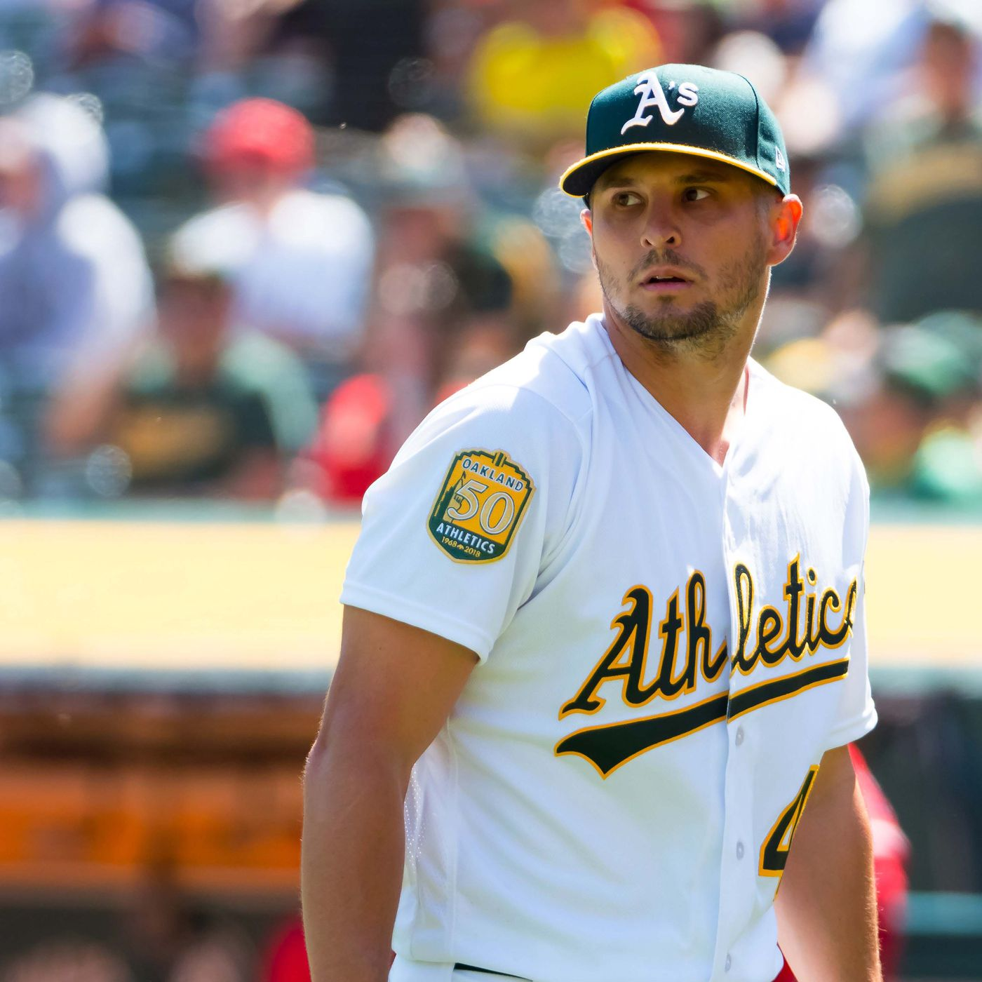 quality design 99a80 b8d46 Oakland A's option Kendall Graveman and Chris Bassitt to ...