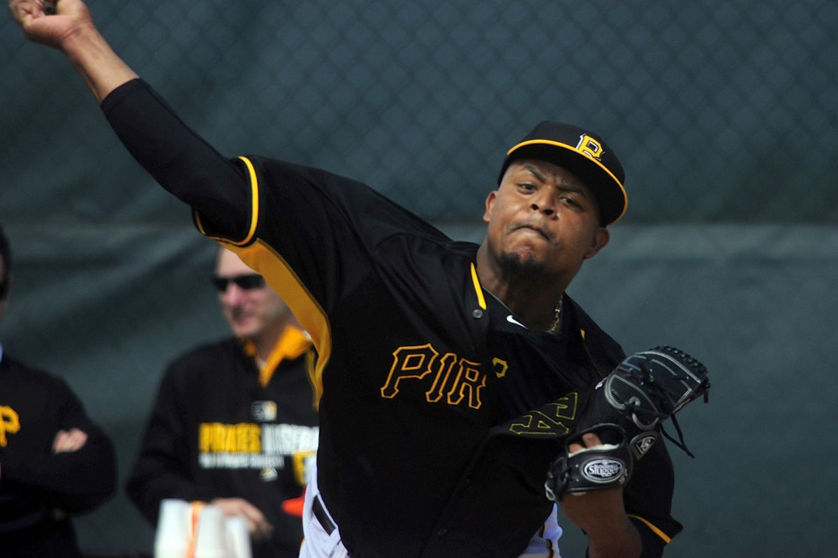 Is this the man who could decide the NL Central? Or is he a punchline?