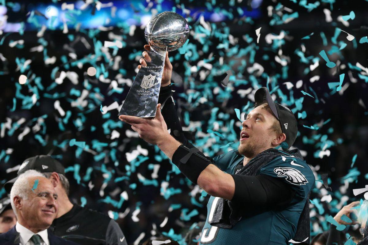 Nick Foles named Super Bowl MVP as Eagles top Patriots - Arizona ... 6e2e01205