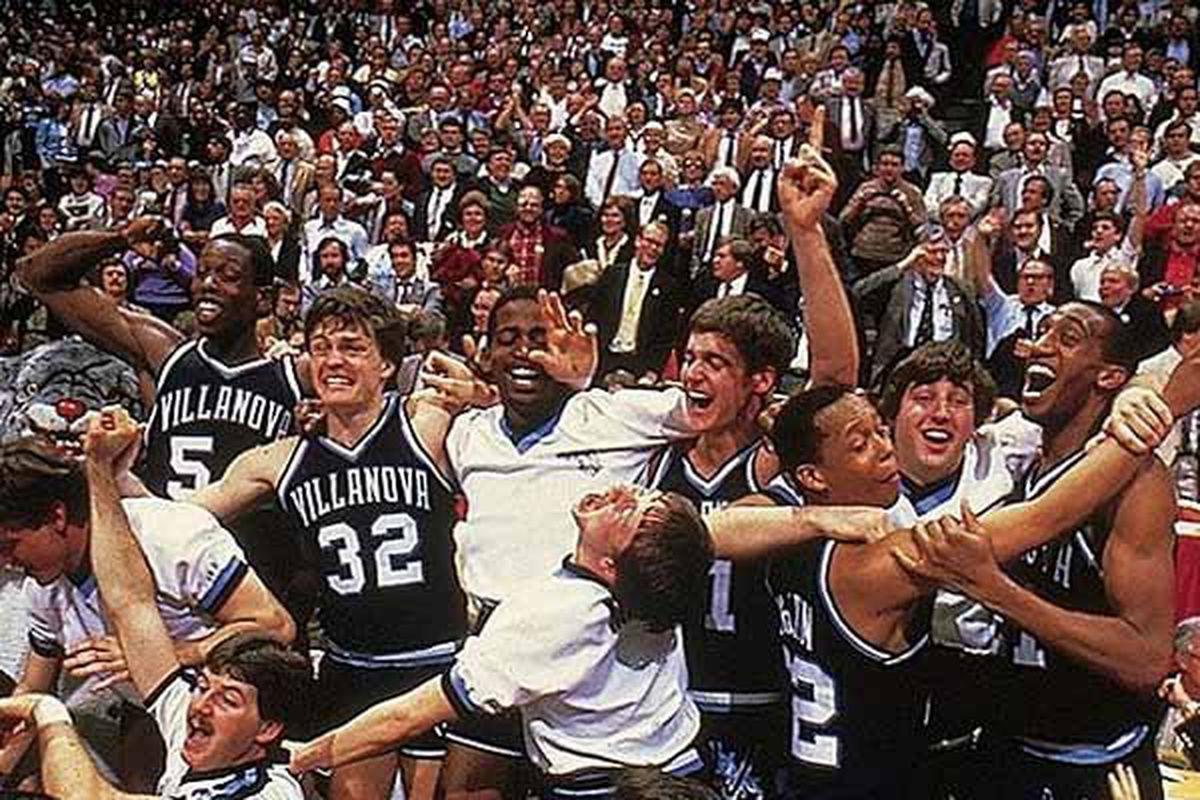 Tournament Throwback: #8 Villanova vs. #1 Georgetown (1985) - VU Hoops