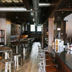 Second floor dining room/bar area
