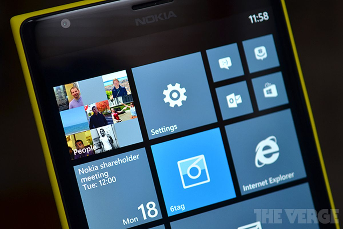 Windows Phone S Today The Verge
