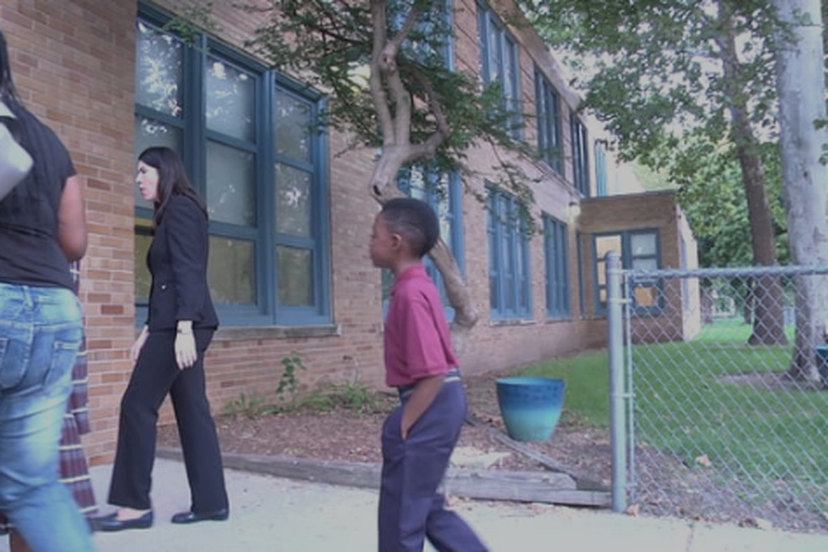 Screengrab from DPSCD First Day of School Newscast