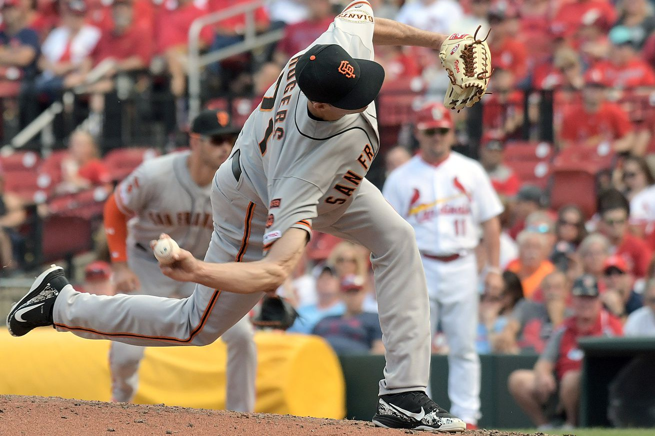 MLB: SEP 02 Giants at Cardinals