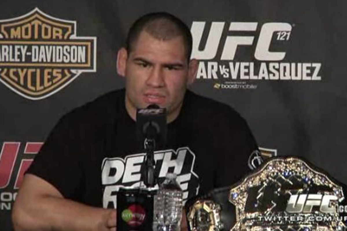 Ufc 121 Post Fight Press Conference Lesnar Vs Velasquez Bloody Elbow