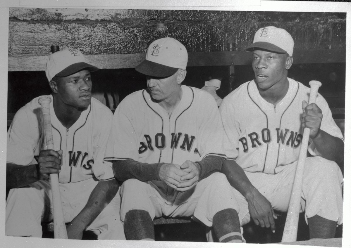 St Louis Browns Players and Manager