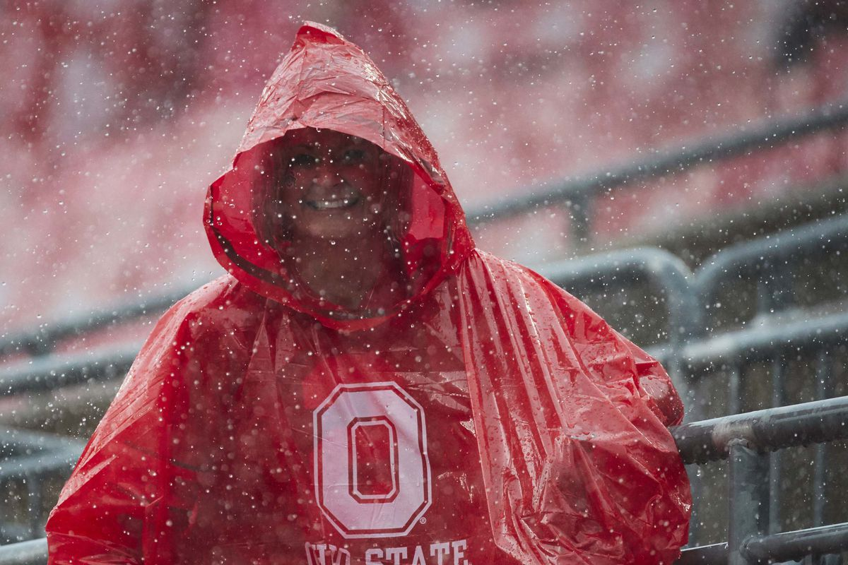 With Rain Forecast How Will Ohio State Adjust Against