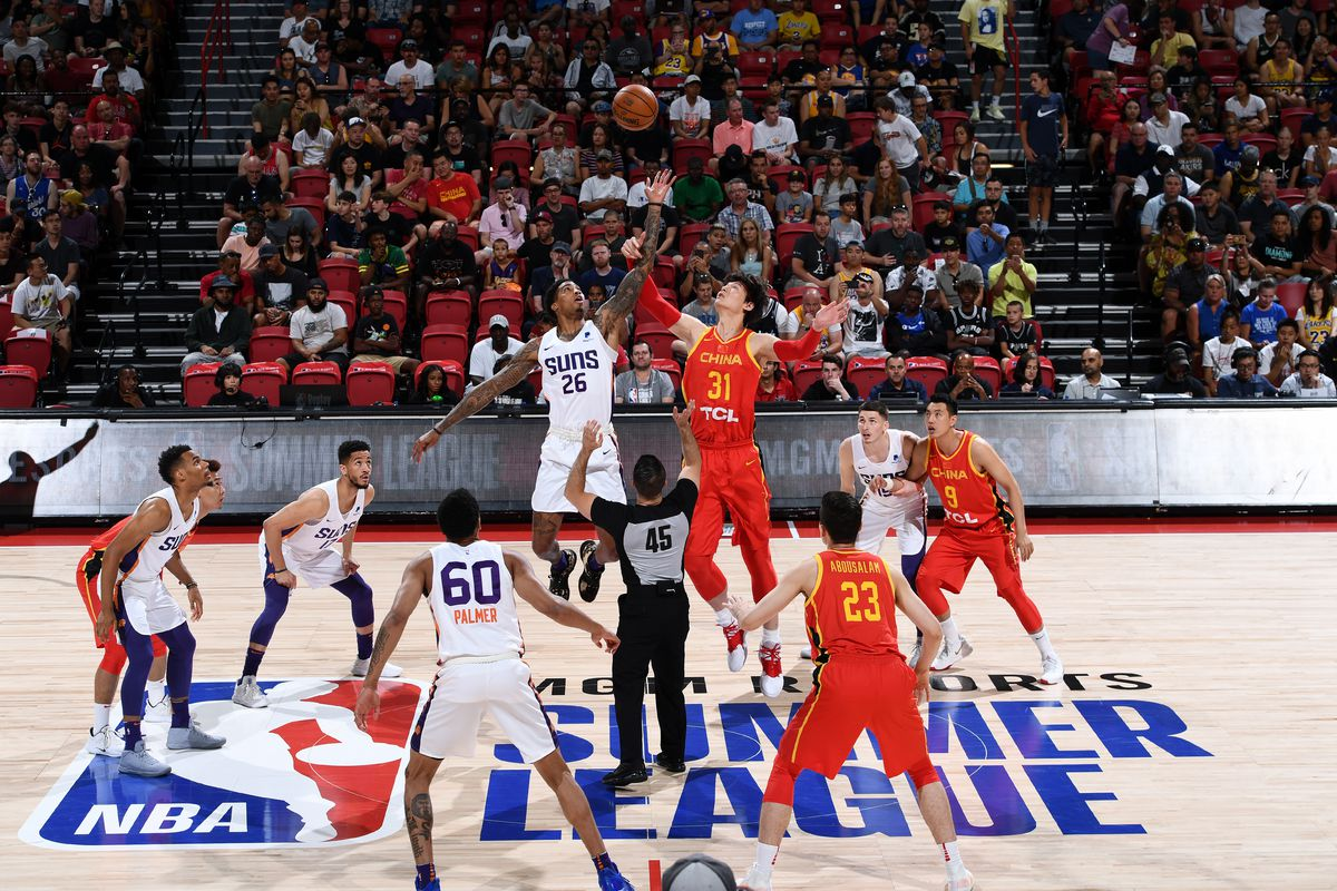 Phoenix Suns fade quietly into the depths of summer with win over China